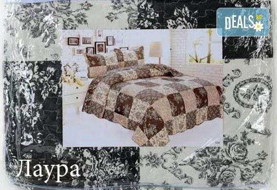 Създайте уютна и стилна атмосфера в спалнята с луксозно шалте или покривка за легло от SPALNOBELIO.BG! - Снимка 1