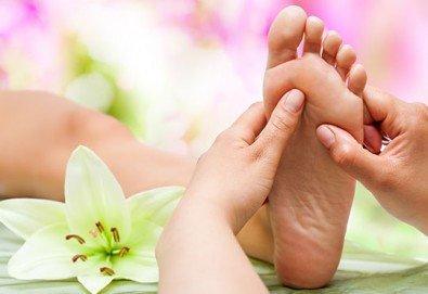 150-минутен SPA-MIX - масаж на цяло тяло, Hot-Stone терапия, рефлекторен масаж на стъпала и длани, антицелулитен вибромасаж на долни крайници и йонна детоксикация - Снимка