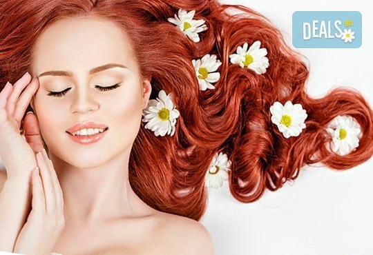 Боядисване с Milk Shake, подстригване, терапия според нуждата на косата и оформяне с четка и сешоар от салон REFINED! - Снимка 1