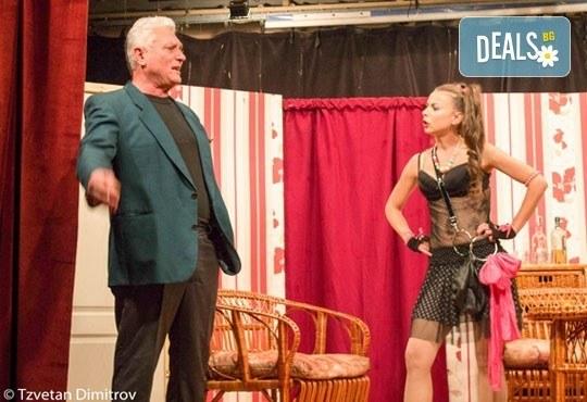 Любими актьори в щурата комедия Луда нощ по френски, на 13.06. от 19ч, в Театър Сълза и Смях! билет за един - Снимка 5