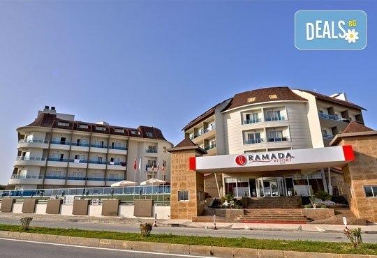 Super Last Minute! Почивка в Ramada Resort Side 5*, Анталия, Турция! 7 нощувки Ultra All Inclusive, самолетни билети и трансфери! - Снимка 2