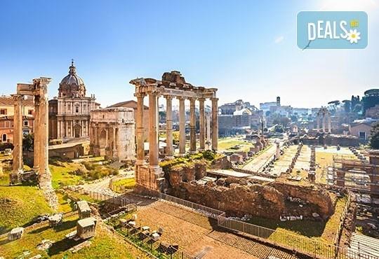 Вечният град - Рим, Ви очаква! Самолетна екскурзия, 4 нощувки със закуски, билет, летищни такси, трансфери и застраховка! - Снимка 3