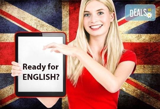 Курс по английски език, ниво B1.2, 45 учебни часа, сертификат за завършено ниво от езиков център Bridge Edu! - Снимка 1