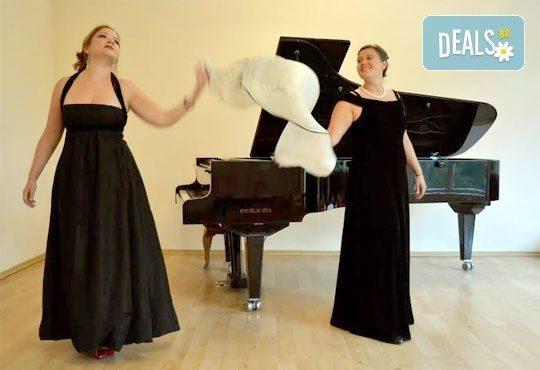 26-ти май (четвъртък), Национален дворец на културата: Концерт на Дуо Колаж - Нона Кръстникова (сопран) и Мария Русева (пиано), МФ Софийски музикални седмици - Снимка 2