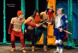 Каним Ви смешна и забавна Приказка за Рицаря без кон- в Младежки театър на 05.06, от 11ч, билет за двама - Снимка