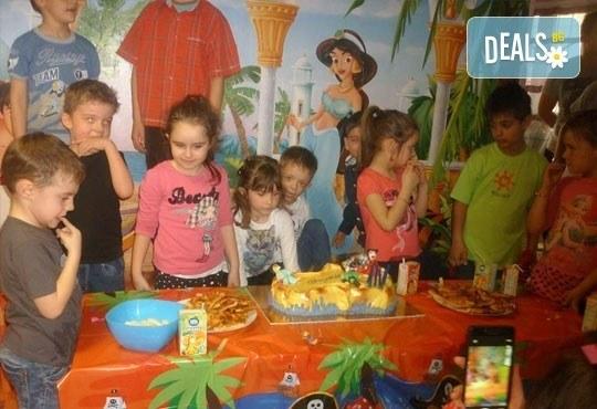 Два часа детско парти за 12 деца с торта, меню за децата, меню за родителите, аниматор, украса и много изненади, кафе- клуб Слънчо, Люлин - Снимка 3