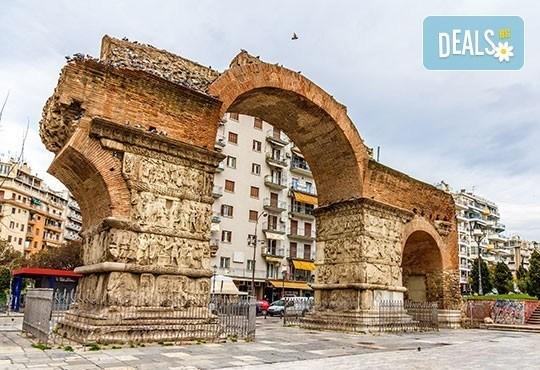 Почивка през юли в Гърция, Олимпийската ривиера, с Дари Травел! 4 нощувки със закуски, Хотел Ouzas 2*, транспорт и панорамен тур в Солун - Снимка 3