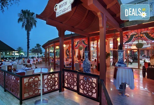 Last minute почивка със самолет в Анталия за периода 4.06 -11.06 или 11.06 - 18.06! 7 нощувки, Ultra All Inclusive в хотел Euphoria Palm Beach Resort 5*, Сиде, двупосочен билет, летищни такси и трансфери - Снимка 5