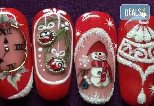 Елегантни и красиви ръце с изящен дълготраен маникюр! Гел лак с подарък арт декорации и бижу за нокти от салон Емоция - Снимка 5