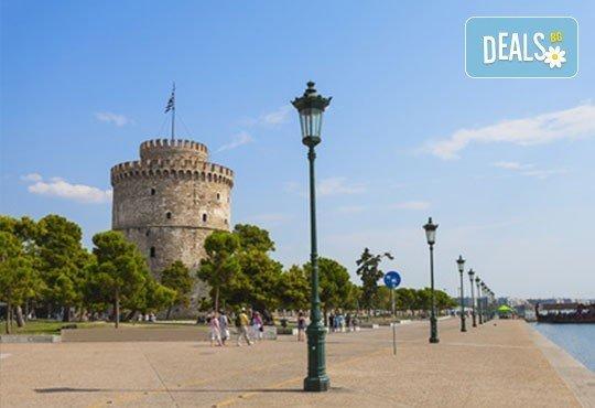 Слънчев уикенд в Гърция! 2 нощувки със закуски в хотел 3* на Олимпийската ривиера, обиколка на Солун и транспорт! - Снимка 2