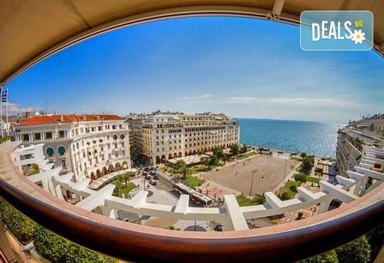 Слънчев уикенд в Гърция! 2 нощувки със закуски в хотел 3* на Олимпийската ривиера, обиколка на Солун и транспорт! - Снимка 3