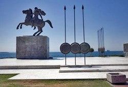 Слънчев уикенд в Гърция! 2 нощувки със закуски в хотел 3* на Олимпийската ривиера, обиколка на Солун и транспорт! - Снимка
