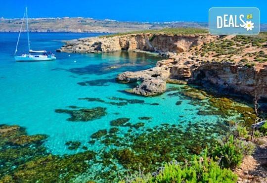 Самолетна екскурзия до Малта, с Лале Тур! 3 нощувки със закуски в Oriana at the Topaz 4*, самолетен билет, летищни такси и трансфери! - Снимка 1