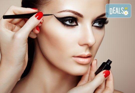 Перманентен грим на цяла вежда, устни контур или очна линия на горен клепач в NSB Beauty Center - Снимка 3