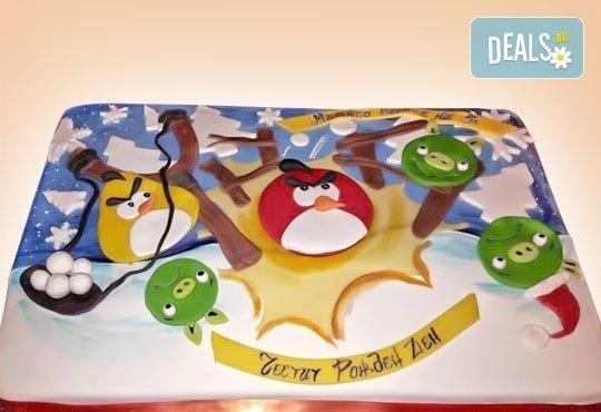 Сбъднати детски мечти! Детска 3D торта с фигурална ръчно изработена декорация от Сладкарница Джорджо Джани - Снимка 15