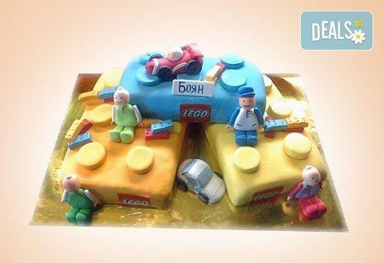 Сбъднати детски мечти! Детска 3D торта с фигурална ръчно изработена декорация от Сладкарница Джорджо Джани - Снимка 7