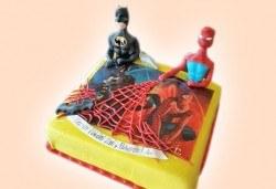 За всички момчета! Детски торти с коли и герои от филмчета с ръчно моделирана декорация от Сладкарница Джорджо Джани - Снимка