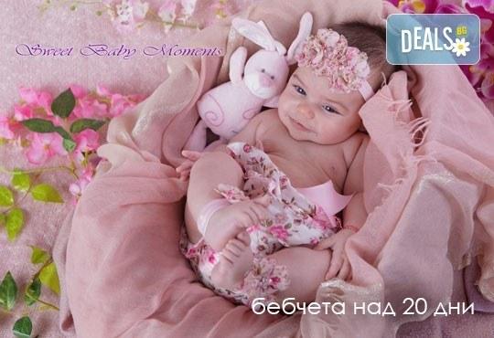 За най-малките! Фотосесия за новородени бебчета с 15 обработени кадъра от ProPhoto Studio! - Снимка 28