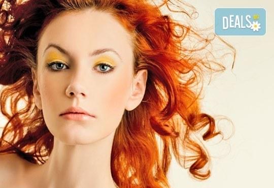 Освежете визията си с боядисване на корени с боя Farma Vita и оформяне на прическа със сешоар от ADI'S Beauty & SPA! - Снимка 2
