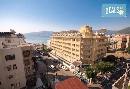 Почивка в Мармарис през юни, с Джуанна Травел! 7 нощувки на база All inclusive в Cle Seaside Hotel 3*, възможност за транспорт! - Снимка 1