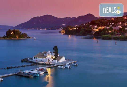 Почивка през октомври на красивия остров Корфу в Гърция! 4 нощувки със закуски и вечери и транспорт! - Снимка 2