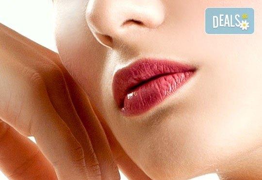 За красиво и сияйно лице! Дълбоко мануално почистване на лице, бонус - почистване на горна устна с конец в салон Nail Bar! - Снимка 2