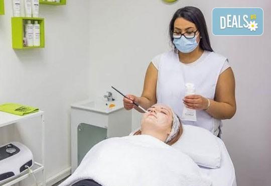 Почистване на лице с ултразвукова шпатула, терапия с кисело мляко и маска според типа кожа в Салон Nails Club до Бизнес парк Младост! - Снимка 3