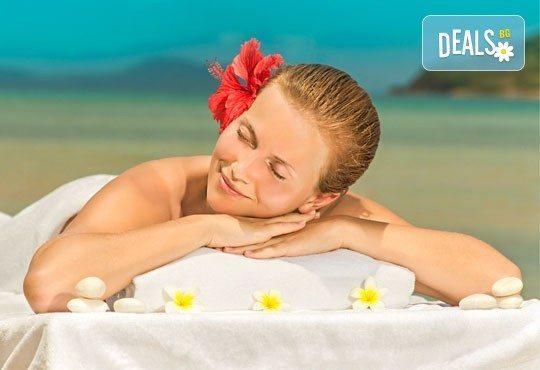 60-минутен масаж ломи-ломи на цяло тяло за единение на духа, тялото и душата в Дерматокозметични центрове Енигма! - Снимка 1