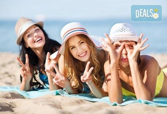 За един ден през юни на плаж в Неа Перамос и Аммолофи, Гърция! Транспорт и екскурзоводско обслужване от Глобул Турс! - Снимка 2