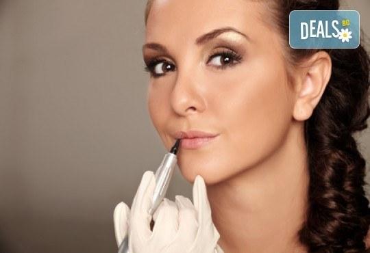 Бъдете съвършени с перманентен грим на устни или вежди - контур и цялостно попълване в Poly Dreams Beauty Center! - Снимка 2