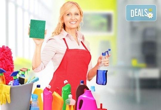 Чистота в офиса! Възползвайте се от цялостно почистване на офис до 100 кв. м от Професионално почистване ЕТ Славия! - Снимка 1