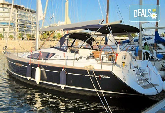 Плати един лев и вземи 20% отстъпка за наем на яхта JEANNEAU Sun Odyssey 50 DS Sunra Del Mare, за една седмица, регион Лефкада, Йонийско море, от MJcharter! - Снимка 2