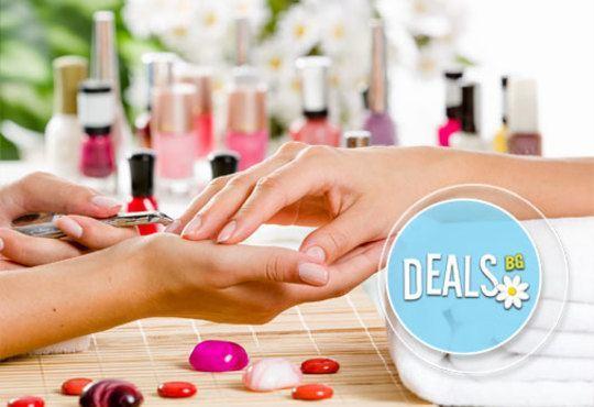 АРТ Маникюр с четири декорации, SPA терапия за ръце със скраб и масла, лак O.P.I. и подарък в Салон GALLERIA OF BEAUTY - Снимка 2