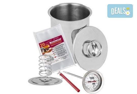 Шунковар - уред за приготвяне на домашна шунка от неръждаема стомана на специална цена! - Снимка 4