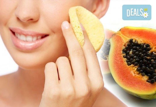 Освежаваща терапия за лице! Ензимен пилинг с папая и витамини, успокояваща маска от студио Магнифико - Снимка 1