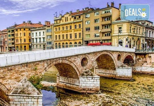 Екскурзия през юли до Сараево, Вишеград, Каменград и Мостар: 2 нощувки със закуски, транспорт и екскурзовод! - Снимка 1