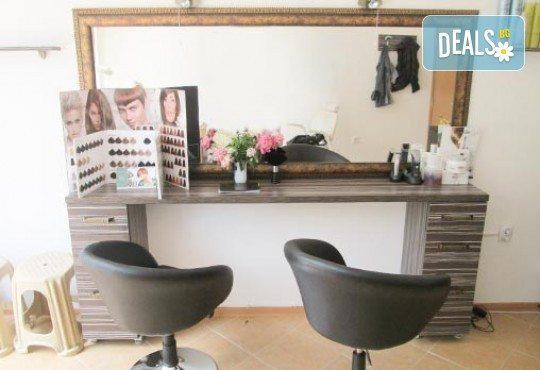 Иновативен метод за отстраняване на цъфтежи - брюлаж със специализирана преса Directional Switch, измиване, маска за коса и изправяне в студио Шармант! - Снимка 4