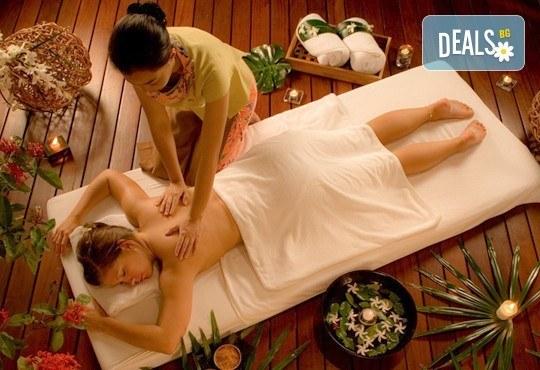За нови сили и настроение! 60-минутен тайландски масаж на цяло тяло с жасмин в студио Giro! - Снимка 1