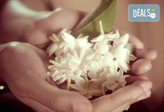 За нови сили и настроение! 60-минутен тайландски масаж на цяло тяло с жасмин в студио Giro! - Снимка 3