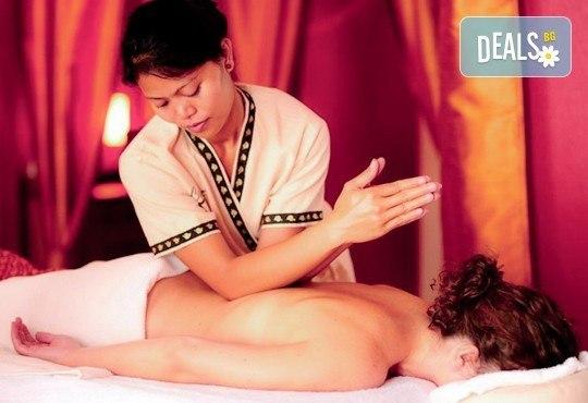 За нови сили и настроение! 60-минутен тайландски масаж на цяло тяло с жасмин в студио Giro! - Снимка 4