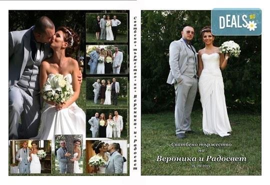 Само сега! Специална цена за фото и видео заснемане на сватбено тържество и 3 подаръка - фотокнига, бижу и картина, от Townhall Productions! - Снимка 3