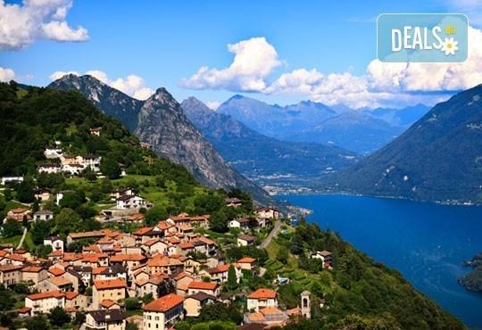 Екскурзия през юли до Австрия, Лихтенщайн, Швейцария и Италия! 5 нощувки със закуски, транспорт и богата програма от Дари Тур! - Снимка 1