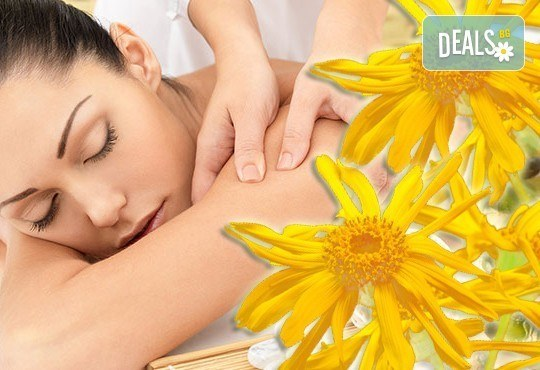 Спрете болката с лечебен масаж на цял гръб с арника от N&S Fashion зелен салон! - Снимка 2