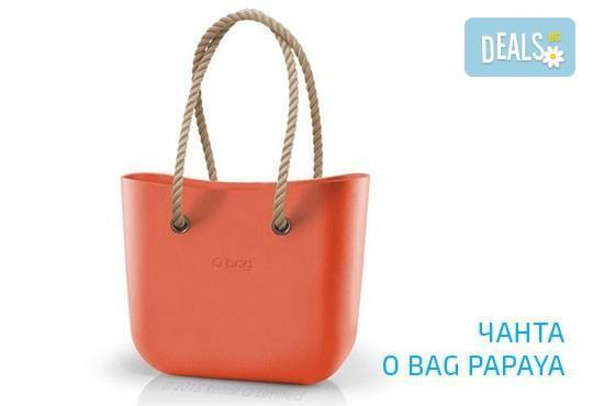 Топ хитът на сезона! Чанта O Bag с въжета в цвят по избор и възможност за джоб с безплатна доставка за цялата страна! - Снимка 8