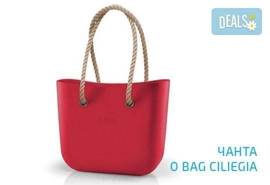 Топ хитът на сезона! Чанта O Bag с въжета в цвят по избор и възможност за джоб с безплатна доставка за цялата страна! - Снимка 5