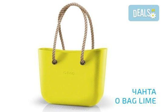 Топ хитът на сезона! Чанта O Bag с въжета в цвят по избор и възможност за джоб с безплатна доставка за цялата страна! - Снимка 1