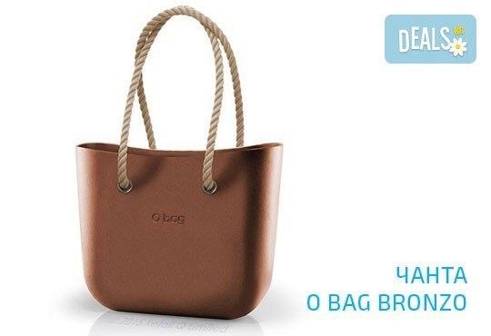 Топ хитът на сезона! Чанта O Bag с въжета в цвят по избор и възможност за джоб с безплатна доставка за цялата страна! - Снимка 4