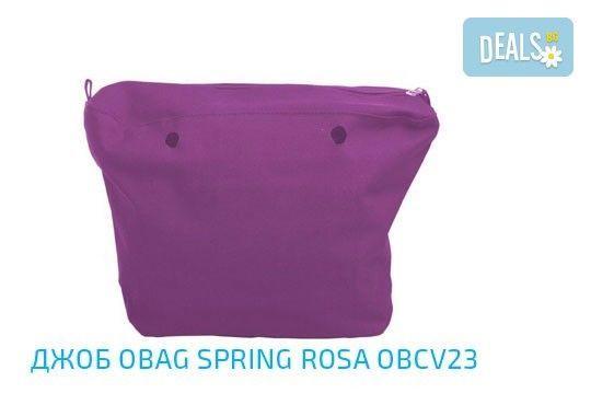 Топ хитът на сезона! Чанта O Bag с въжета в цвят по избор и възможност за джоб с безплатна доставка за цялата страна! - Снимка 17