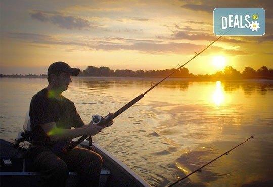 Спортен риболов! Неограничен престой и две въдици на човек за един ден от Спортен риболов Требич! - Снимка 1
