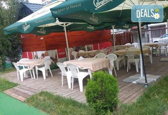 Обяд или вечеря в Ресторант градина БРИКС! ДВЕ големи пици + ДВЕ чаши бяло вино само за 9.00лв! - Снимка 6